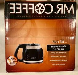 New In Box Genuine Mr. Coffee Maker 12 Cup Black Replacement