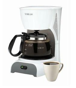 new mr coffee 4 cup switch coffeemaker