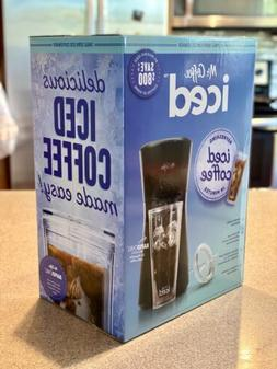 NEW! Mr. Coffee Iced Coffee Maker with Reusable Tumbler and