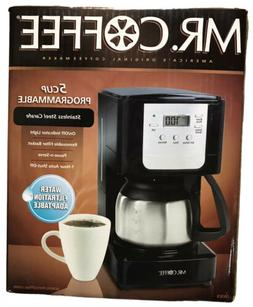 NEW Mr. Coffee JWX9 5 Cup Programmable Coffeemaker with Stai
