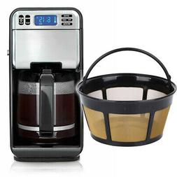Permanent Coffee Filter for 8-12 Cup Mr. Coffee Reusable Bas
