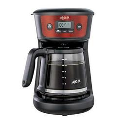 Programmable Coffeemaker 12-Cup, Strong Brew Selector, Cranb