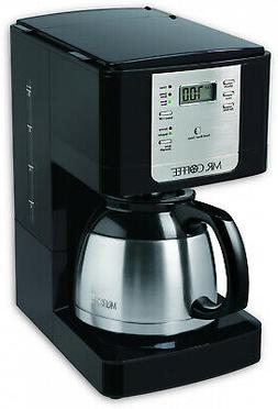 Stainless Steel 8-Cup Thermal Coffee Maker Programmable Fres