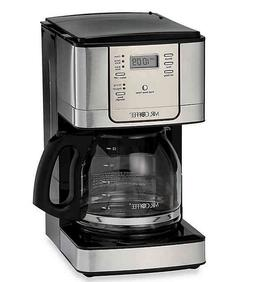 12 Cup Stainless Steel Programmable Coffeemaker by Mr. Coffe